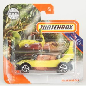 Miniatura Big Banana Car Matchbox 1/64