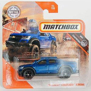 Miniatura Chevy Colorado Xtreme '16 Matchbox 1/64
