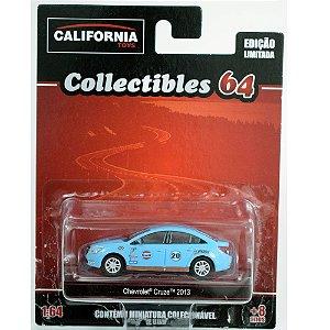 Miniatura Chevrolet Cruze Gulf 1/64 California Collectibles