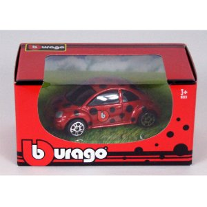 Miniatura New Beetle Edição Limitada Nuremberg Toy Fair 2020 1/64 Burago