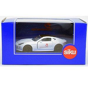 Miniatura Jaguar F-Type Edição Limitada Nuremberg Toy Fair 2020 1/64 Siku