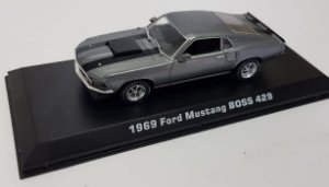 Miniatura Ford Mustang Boss 1969 John Wick 2014 1/43 Greenlight