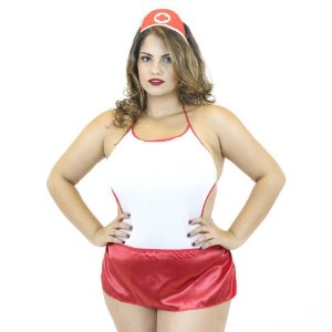 FANTASIA SALVA VIDAS BODY PLUS SIZE