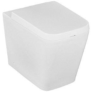 Bacia Vaso Sanitário Convencional Quadrado Lux Branco