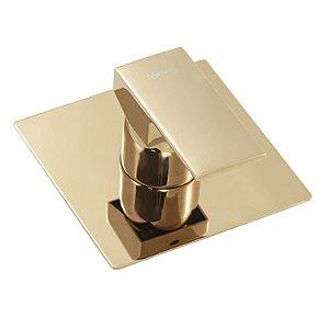 Acabamento Rose Gold Para Base Monocomando Chuveiro Deca