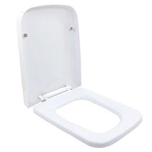 Assento Sanitário Bacia Lux Convencional  Soft Close Branco
