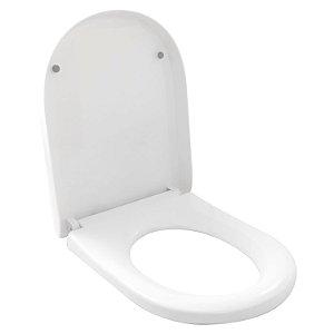 Assento Vaso Sanitário C/ Acoplada Doha Branco Soft Close
