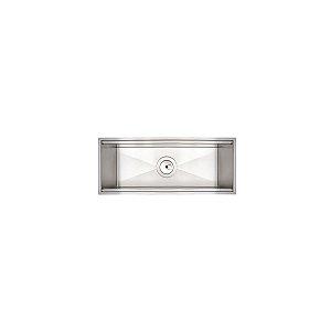 Calha Úmida Sobrepor Scotch Brite Tramontina Inox 45x18cm