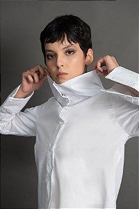 Camisa Gola Alta Tricoline Inv.19