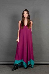 Vestido Valentina Bicolor Jersey Inv.19