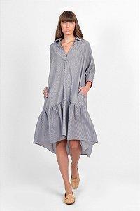 Vestido Ana Tricoline Listra V.20