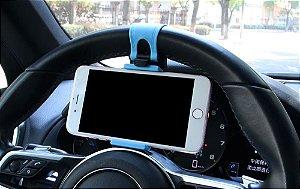 Suporte de Celular Para Volante de Carro e Moto