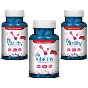 Bio Vitalithy Suplemento Mineral 270 cápsulas