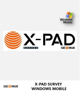 GeoMax Software GNSS X-PAD Survey Windows Mobile para Campo