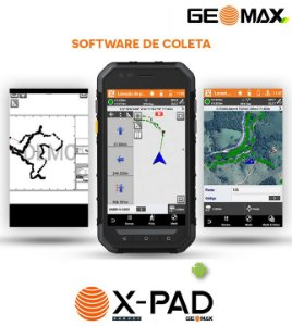 GeoMax Software GNSS X-PAD Survey Android Para Campo