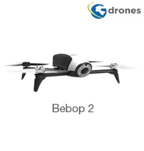 G-Drones Bebop 2 Pro 3D Modeling Drone Multirrotor