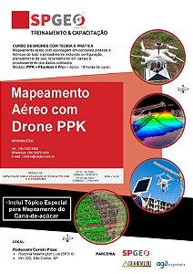 Curso de Mapeamento Aéreo com Drone / VANT - MÓDULO PPK