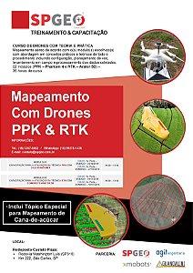 Curso de Mapeamento Aéreo com Drone / VANT - COMBO MÓDULOS PPK & RTK