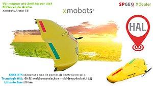 Xmobots Arator 5B HAL VANT Asa Fixa RTK