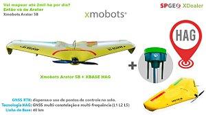 Xmobots Arator 5B HAG VANT Asa Fixa RTK + XRTK 336B