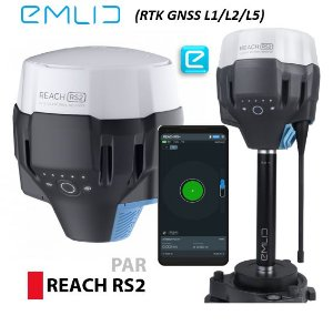 EMLID REACH RS2 GNSS RTK Base e Rover