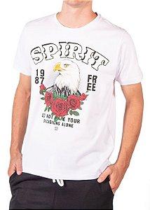 Camiseta Branca Estampa 4200