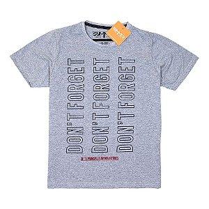 Camiseta Mescla Com Estampa 4200