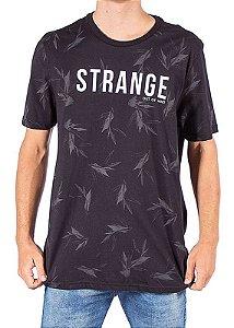 Camiseta Estampada Preta FORE010