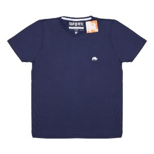 Camiseta Básica Marinho 4203