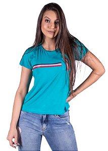 Blusa Feminina Com Bolso Verde 3203