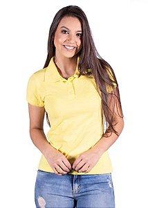 Blusa Polo Piqueta Amarela 0001
