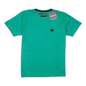 Camiseta Básica Verde Água 4203