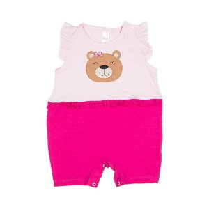 Body Patch Urso Pink E Rosa 021