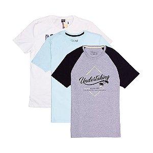 3 Camisetas KIT011