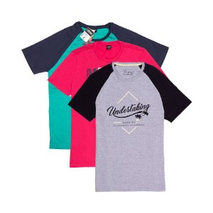 3 Camisetas KIT012