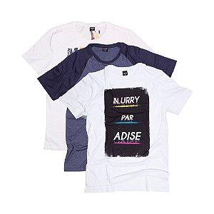 3 Camisetas Tamanho M KIT013