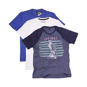 3 Camisetas KIT014