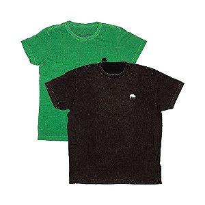 2 Camisetas Estonadas Tamanho P KIT016