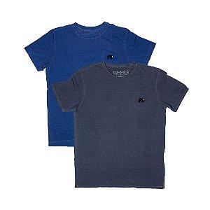 2 Camisetas Estonadas Tamanho P KIT017
