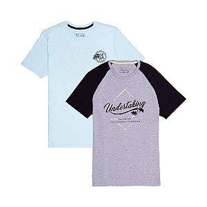 2 Camisetas Tamanho P KIT019
