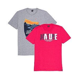 2 Camisetas Tamanho M KIT020