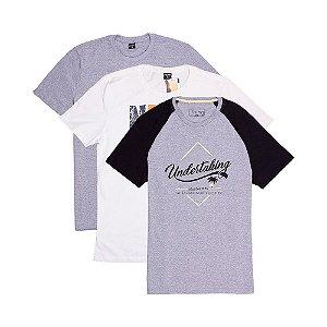 3 Camisetas Tamanho M KIT025