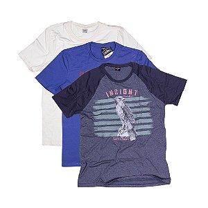 3 Camisetas Tamanho M KIT026