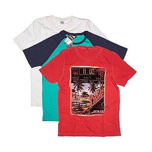 3 Camisetas Tamanho M KIT027