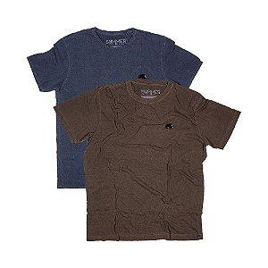 2 Camisetas Estonadas Tamanho GG KIT030