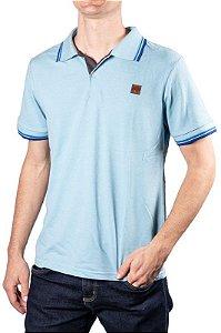 Camisa Polo Piquet Azul 192129