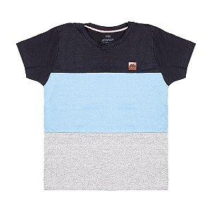Camiseta Preta Com Recorte 192114