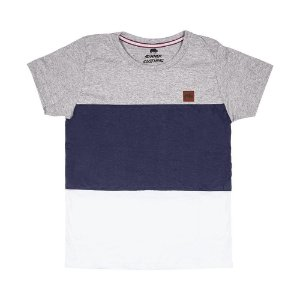 Camiseta Mescla Com Recorte 192114