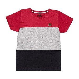 Camiseta Vermelha Com Recorte 192114