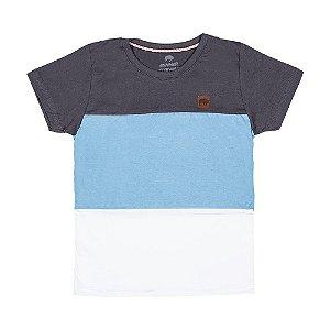 Camiseta Chumbo com Recorte 192114